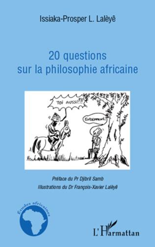 Couverture 20 questions sur la philosophie africaine