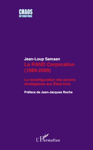 Couverture La RAND Corporation (1989-2009)