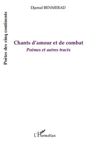 Couverture Chants d'amour et de combat