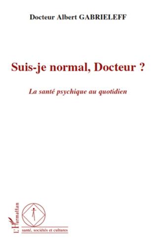 Couverture Suis-je normal, Docteur ?