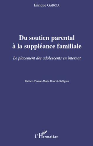 Couverture Du soutien parental à la suppléance familiale
