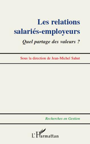 Couverture Relations salariés-employeurs