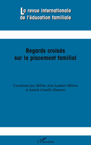 Couverture Regards croisés sur le placement familial