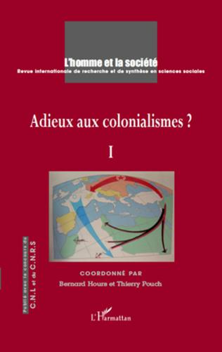 Couverture Adieux aux colonialismes ?