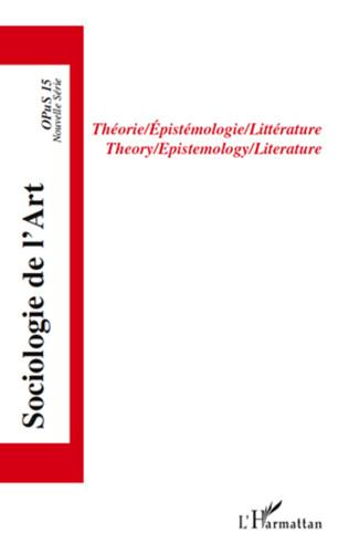 Couverture Théorie/Epistémologie/Littérature