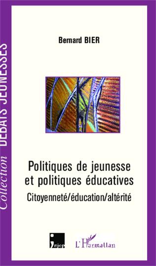 Couverture Politiques de jeunesse et politiques éducatives