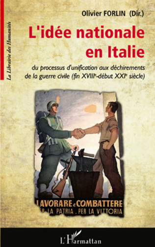 Couverture L'idée nationale en Italie