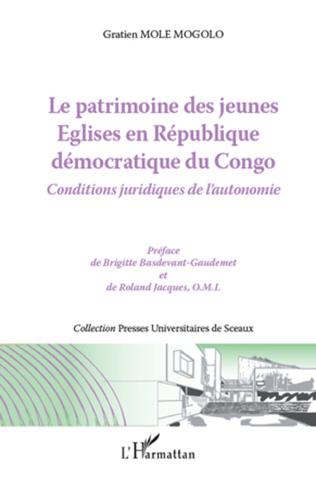 Couverture Le patrimoine des jeunes Eglises en République démocratique du Congo