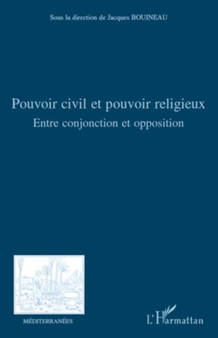Couverture Pouvoir civil et pouvoir religieux