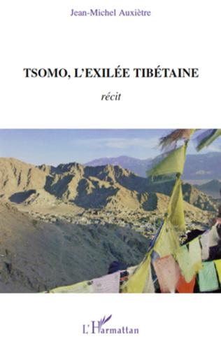 Couverture Tsomo, l'exilée tibétaine
