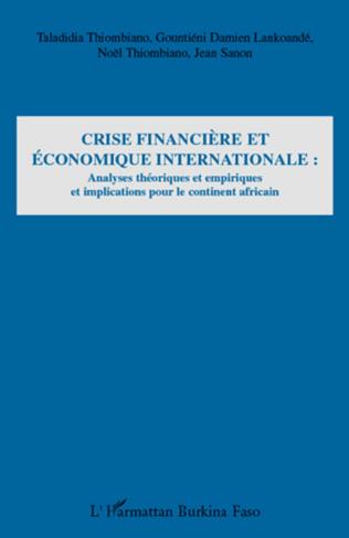 Couverture Crise financière et économique internationale :