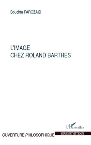Couverture IMAGE CHEZ ROLAND BARTHES