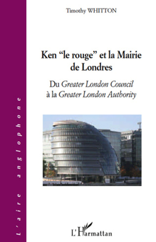 Couverture Ken le rouge et la mairie de Londres