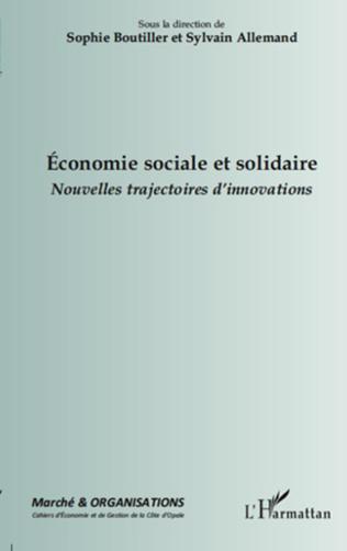 Couverture L'ECONOMIE SOCIALE ET SOLIDAIRE A L'HEURE DE L'ENTREPRENEURIAT SOCIAL
