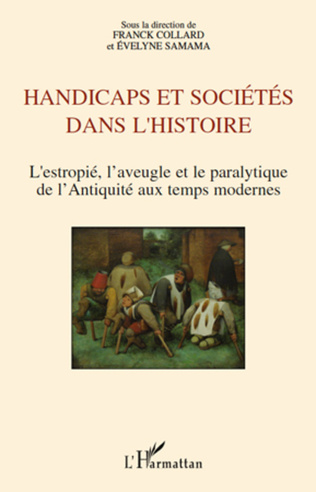 Couverture Handicaps et sociétés dans l'histoire