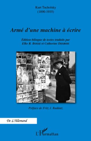 Couverture Armé d'une machine à écrire