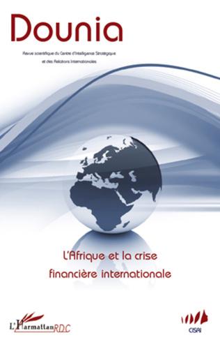 Couverture L'Afrique et la crise financière internationale