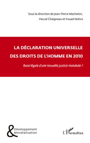 Couverture La Déclaration universelle des droits de l'homme