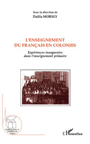 Couverture L'enseignement du français en colonies