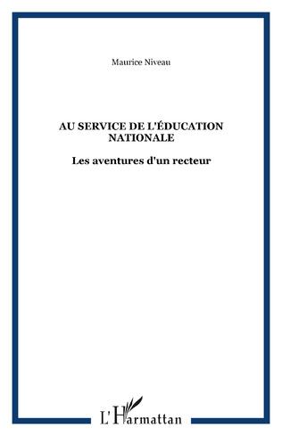 Couverture Au service de l'éducation nationale
