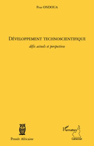 Couverture Développement technoscientifique