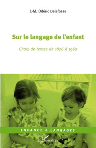 Couverture Sur le langage de l'enfant