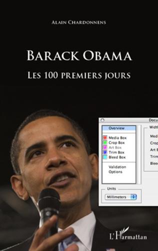 Couverture Barack Obama : les 100 premiers jours