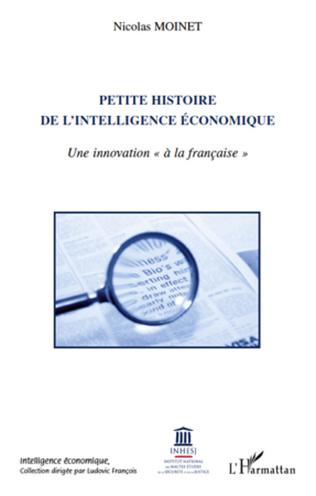 Couverture Petite histoire de l'intelligence économique