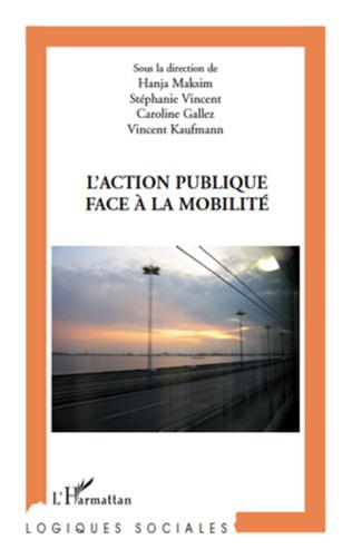Couverture L'action publique face à la mobilité