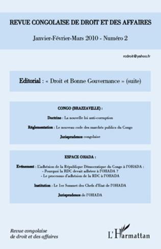 Couverture Droit et bonne gouvernance
