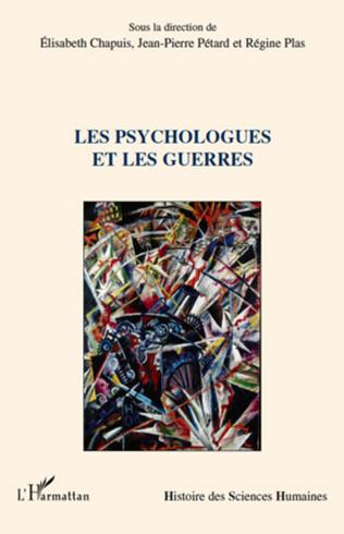 Couverture Les psychologues et les guerres