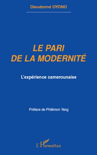 Couverture Le pari de la modernité
