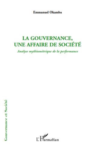 Couverture La gouvernance, une affaire de société