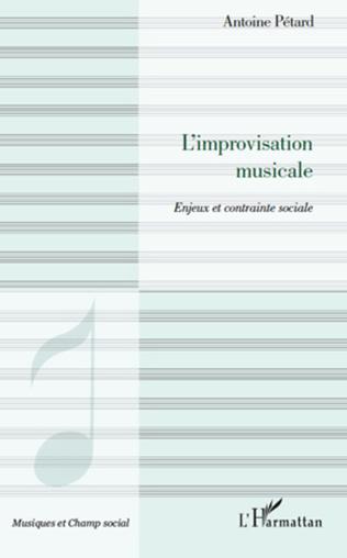 Couverture L'improvisation musicale