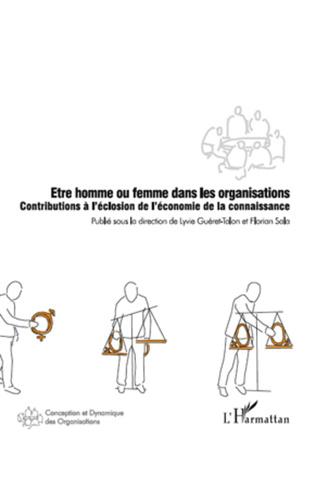 Couverture Etre homme ou femme dans les organisations