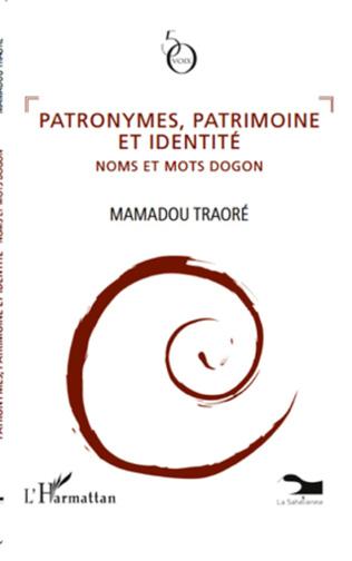 Couverture Patronymes, patrimoine et identité