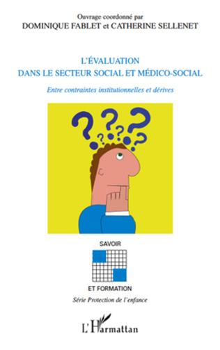Couverture L'évaluation dans le secteur social et médico-social