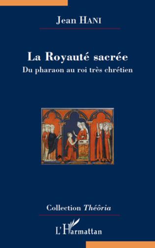 Couverture La Royauté sacrée