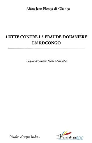 Couverture Lutte contre la fraude douanière en RD Congo