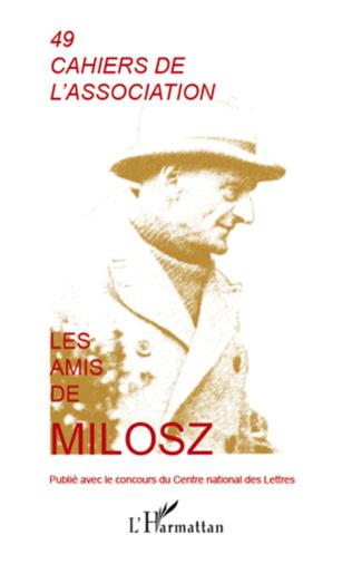 Couverture Les Amis de Milosz