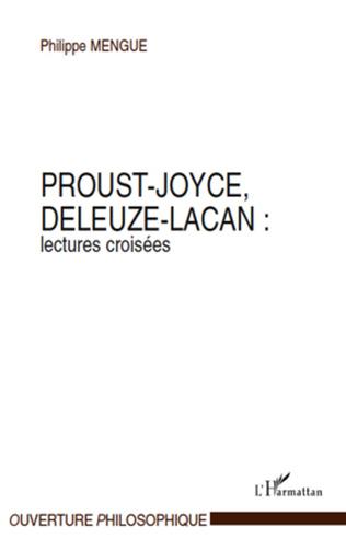 Couverture Proust-Joyce, Deleuze-Lacan : lectures croisées