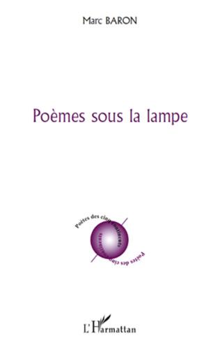 Couverture Poèmes sous la lampe