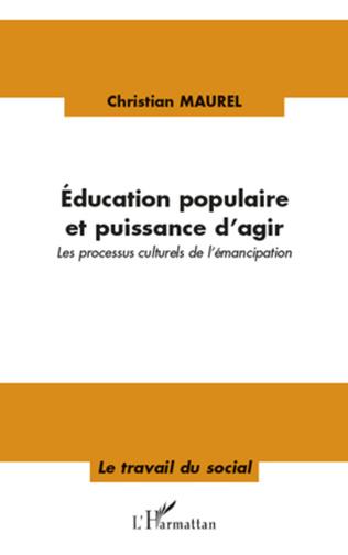 Couverture Education populaire et puissance d'agir