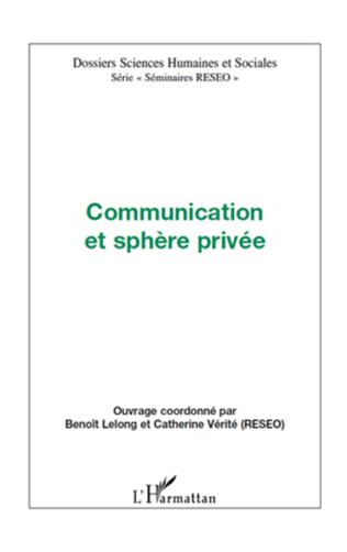 Couverture Communication et sphère privée