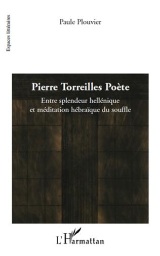 Couverture Pierre Torreilles Poète