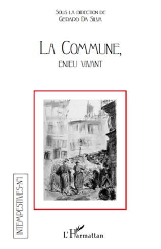 Couverture La Commune, enjeu vivant