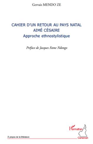 Couverture Cahier d'un retour au pays natal Aimé Césaire