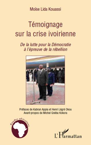 Couverture Témoignage sur la crise ivoirienne