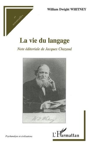 Couverture La vie du langage