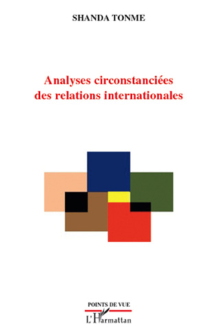 Couverture Analyses circonstanciées des relations internationales